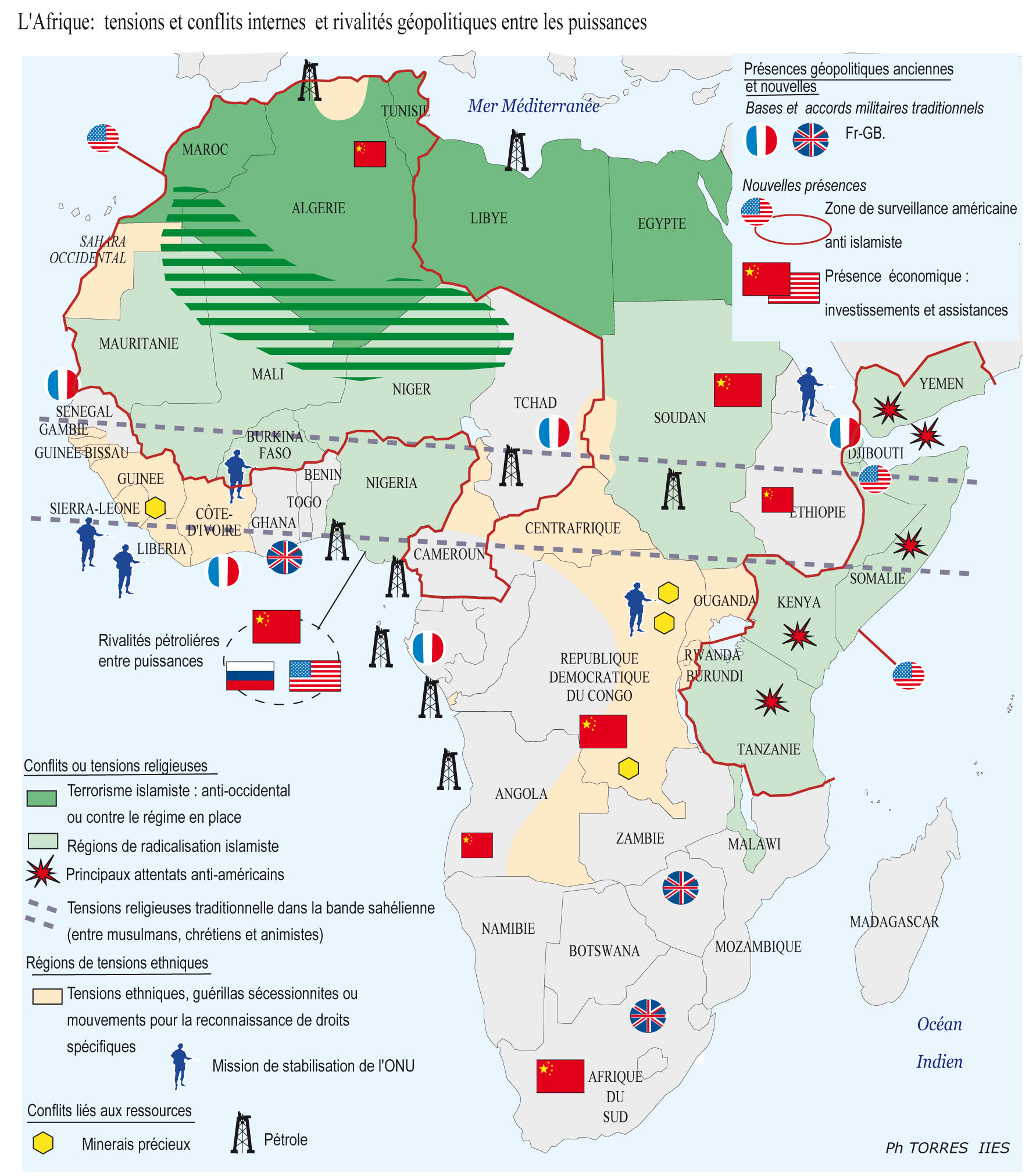 Conflicts and Geopolitical Rivalries in Africa